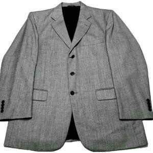 STAFFORD Charcoal Grey Wool Blazer Sport Coat